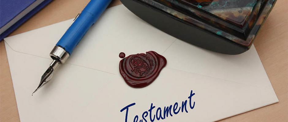 Faire rédiger un testament chez le notaire, comment faire ?